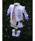 Costum national botez complet Violeta