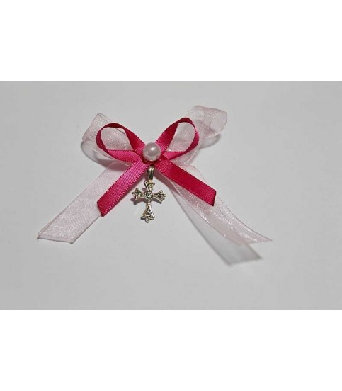 Cruciulite cu doua fundite roz si alba producator Atelierele Cris  3,90Lei
