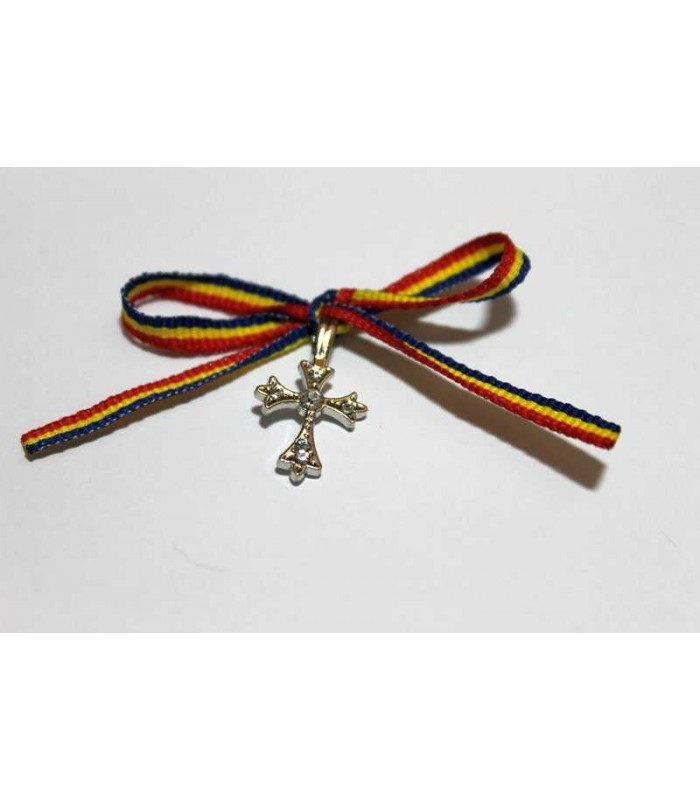 Cruciulite botez fundita tricolora